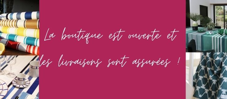 Nous sommes ouverts!