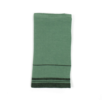 Serviette de table verte
