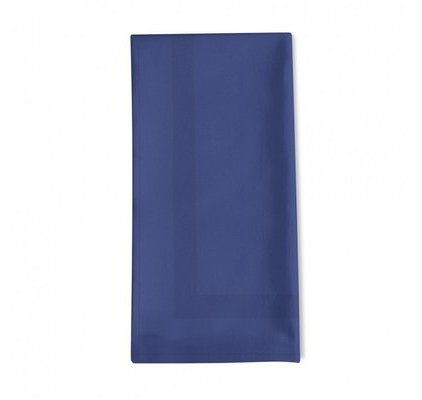 Serviette de table bleu indigo