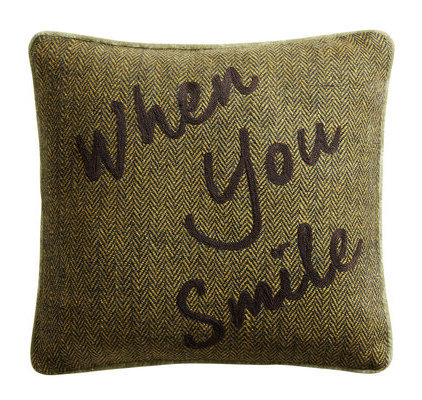 Coussin When you smile