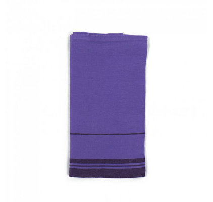 Serviette basque Violet